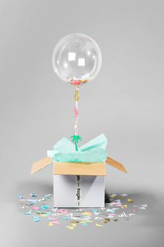 Balloon In A Box | Bonbon Balloons