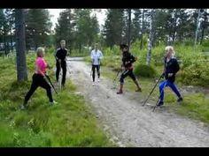Marche / exercices bâtons dynamiques BungyPump - YouTube