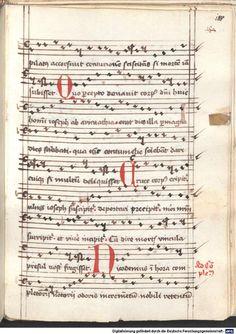 Cantionale, Geistliche Lieder mit Melodien. Münchner Marienklage Tegernsee, 3. Drittel 15. Jh. Cgm 716  Folio 188
