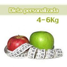Esta Dieta personalizada está diseñada para 30 días (4 semanas) para adelgazar 4-6Kg.