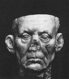 Голова старика. Мрамор. Сер. I в. до н.э. Копенгаген, Новая Карлсбергская глиптотека.