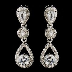 Beautiful wedding earrings from  marsbazaarshop.com.  This site has  Exquisite Jewelry