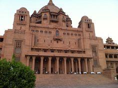 Back Facade & Gardens, Umaid Bhawan Palace