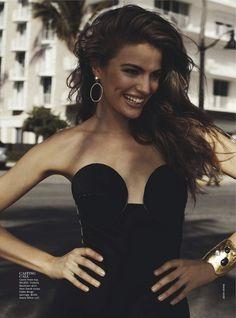 opaqueglitter:    Miami Heat: Vogue Australia February 2013  Model: Cameron Russell  Photographer: Benny Horne