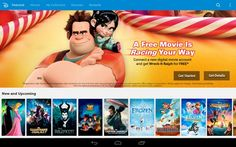 For a limited time, when you connect a new digital movie account you get a free digital copy of Wreck-it Ralph on Disney Movies anywhere. Disney Now, Disney On Ice, Disney Live, Disney Music, Disney Frozen, Dreamworks Studios, Walt Disney Animation Studios, Disney Movie Rewards, Social Tv