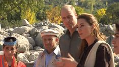 The Duke & Duchess of Cambridge visited the Chiatibo glacier in the Hindu Kush mountain range in the Chitral District of Khyber-Pakhunkwa Province. Princess Kate, Princess Charlotte, Duke And Duchess, Duchess Of Cambridge, Kalash People, Hindu Kush, Model School, Importance Of Education, Janet Jackson