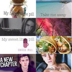 Troye Sivan's song Happy Little Pill.