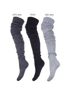 f7bcf3682d5 Marilyn Zazu 685 Angora Over-The-Knee Socks