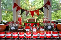 LOVE IT!!!  I gotta have my girls help me out with this kick butt Dessert Table!