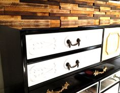 Check it out! Dresser, Antiques, Projects, Inspiration, Furniture, Check, Home Decor, Wall Cladding, Wood