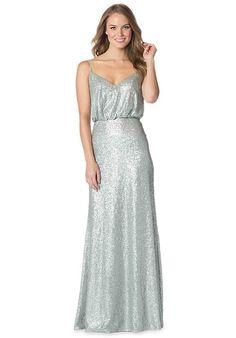 Halter Neck Lace A-Line Bella Chiffon Dress   Bari Jay Bridesmaids ...