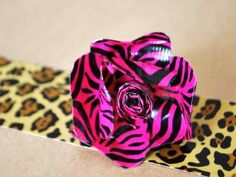 Accesories with animal print duct tape! I need to make this, just need pink zebra design...