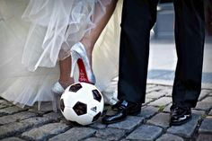 Soccer wedding....could be a possibility :D