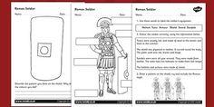 Roman Soldiers Worksheet - romans, roman soldiers, roman history, roman worksheet, roman soldiers worksheet, roman soldiers clothing, ks2 history, soldiers