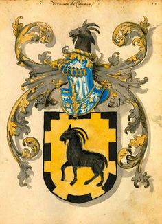 The Viscounts of Cabrera Coat or Arms