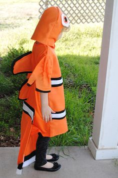 1000 images about fish costume on pinterest fish for Clown fish costume