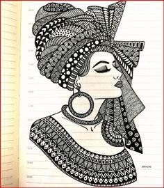 Doodle Art Drawing, Dark Art Drawings, Girly Drawings, Art Drawings Sketches Simple, Mandala Drawing, Pencil Art Drawings, Drawing Ideas, Mandala Design, Dibujos Zentangle Art
