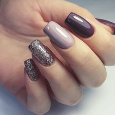 Make an original manicure for Valentine's Day - My Nails Silver Nails, Glam Nails, Diy Nails, Beauty Nails, Cute Nails, Neon Nails, Stylish Nails, Trendy Nails, Colorful Nail Designs
