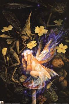 Good Faeries Bad Faerie Brian Froud Nicely Illus Fairy Fairies | eBay
