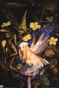 Good Faeries Bad Faerie Brian Froud Nicely Illus Fairy Fairies | eBay
