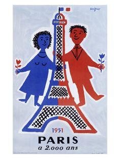 ¤ Raymond Savignac (1951). Paris a 2 000 Ans