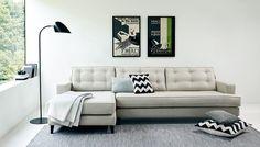 Heal's Mistral Left Hand Facing Corner Sofa