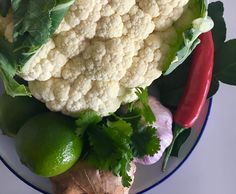 Recipe Thai Curry with Cauliflower Rice and Veg by Karen Harris - Recipe of category Main dishes - vegetarian