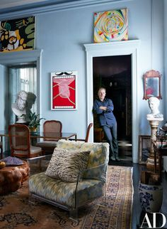In designing his Greenwich Village flat, artist Jack Pierson conjures a romantically evocative backstory | archdigest.com