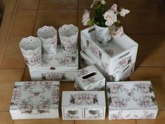 Decoupage set