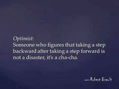 Awesome optimism quote:)
