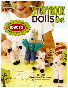 Storybook Dolls to Knit, Leisure Arts 5286. Brand New. Now 50% OFF MSRP + free shipping in the US.