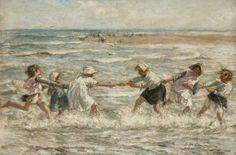Robert Gemmell Hutchison (1855-1936) - Tug of War