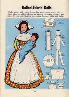 Vintage 1965 Craft Booklet