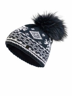 KNIT HAT CARRIE in Blue for Women | BOGNER USA