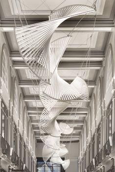 Jason Bruges Studio — Light Quadrant Green Box, Natural Phenomena, History Museum, Bruges, Studio, Design, Led, Architecture