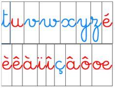 Lettres mobiles Montessori Mobile Montessori, Letter Games, Writing Skills, Mobiles, Phonics, Kids Learning, Literacy, Homeschool, Language