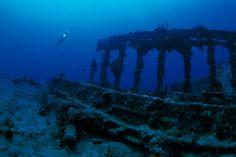 Wreck of the HMS Rhone  British Virgin Islands - one of my favorite dives !!!
