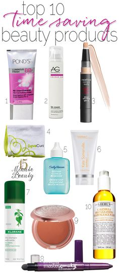 The Best Time Saving Beauty Products via 15MinuteBeauty.com