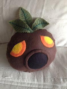 NEW Deku mask pillow  Legend of Zelda by PatchworkSpookies on Etsy, $40.00