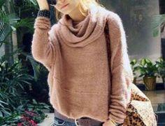 Marker Boutique Mock Sweater New Boutique Pink Vtg Insp Top 11 C80 s M | eBay