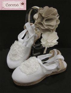 Tocados COCONÓ : Nuevas diademas y alpargatas en Nilda Mayo Art Pieces, Espadrilles, Footwear, Sewing, Chic, Crochet, Sneakers, Mayo, Island