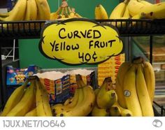 Curved fruits?
