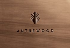 furniture logo Anthewood Furniture by Sebastian Bednarek, via Behance Corporate Identity Design, Brand Identity Design, Branding Design, Logo Design, Branding And Packaging, Wood Branding, Logo Typo, Typography, Furniture Logo