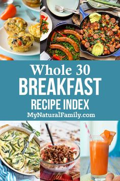 Whether you like your Whole 30 Breakfast Recipes with eggs or without eggs or in the form of a casserole I've got you covered. It hink you'll be pleased. Whole 30 Breakfast Casserole, Egg Recipes For Breakfast, Breakfast On The Go, Breakfast Ideas, Homemade Sausage Recipes, Beef Recipes, Healthy Recipes, Mexican Recipes, Recipies