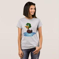 Cute Cartoon Duck T-Shirt