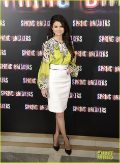 Selena Gomez are super stylish at the photo call for their film Spring Breakers - Google Search