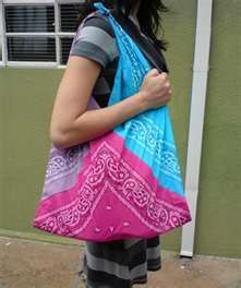 Bandana Purse - so versatile.