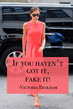 Inspiring quotes from career women, Victoria Beckham | Get inspired at 40plusEntrepreneur.com