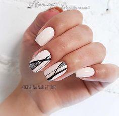 Wedding Nails-A Guide To The Perfect Manicure – NaiLovely Silver Nail Designs, Simple Nail Designs, Nail Art Designs, Classy Nails, Trendy Nails, Hot Nails, Hair And Nails, American Nails, Lines On Nails
