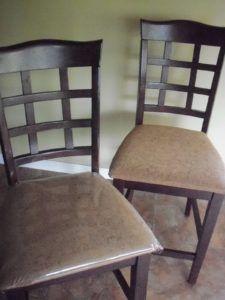 Vinyl Kitchen Chair Covers
